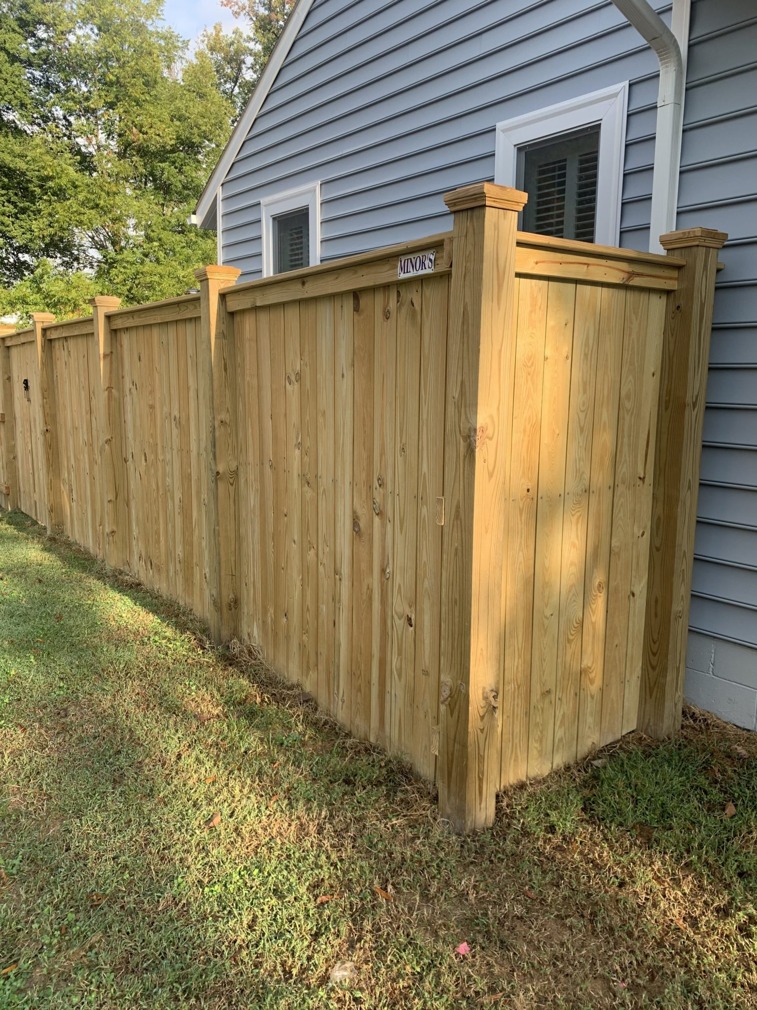 Custom Fences Richmond Va Minor S Fences Inc